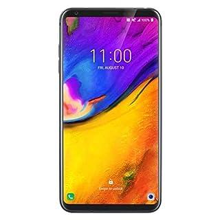"LG V35 ThinQ 64GB GSM Unlocked LTE Smartphone w/Dual 16MP Cameras, 6"" QHD+ OLED FullVision, Face Recognition & Fingerprint Sensor (Platinum Gray) (Renewed)"