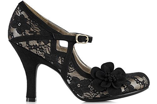 Elsy - Black Lace negro