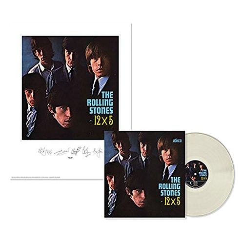 Rolling Stones: 12x5 Lithograph & Clear Vinyl (Unframed) (Vinyl Unframed)
