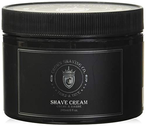 Shave Cream 8floz shave cream by Crown Shaving