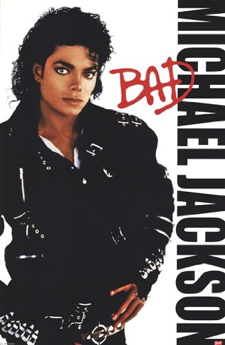 Michael Jackson - Bad Poster Print