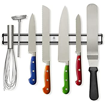 This Item Tu0026Hproducts  Magnetic Knife Holder   Storage Strip   Kitchen  Knives Bar   Aluminum Rack 16 Inches   Never Rust