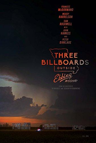 Three Billboards Outside Ebbing, Missouri Movie Poster Limited Print Photo Frances McDormand, Woody Harrelson, Sam Rockwell Size 24x36 #1