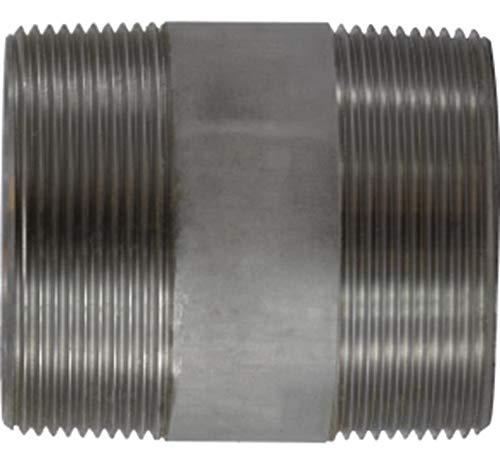 3 OD 304 Stainless Steel 3 Diameter 2-5//8 Length 3 OD Midland Metal Midland 48-200 SCH 40 Welded 304 Stainless Steel Nipple 3 Diameter 2-5//8 Length