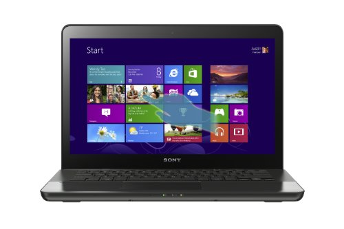 Sony VAIO SVF14A16CXB 14-Inch Touchscreen Laptop (Steel Black)
