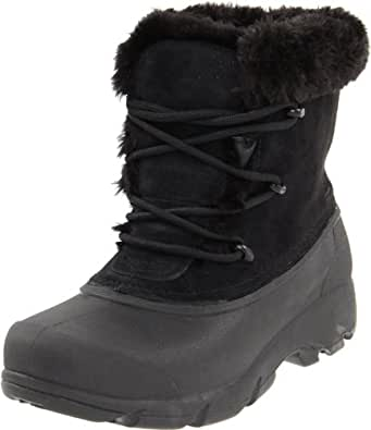 Sorel Women's Snow Angel Lace Boot (5 B(M) US / 36 EUR, Black)