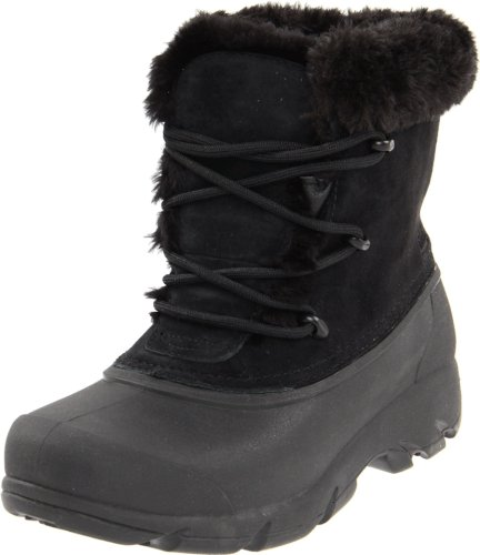 Sorel Women's Snow Angel Lace Boot, Black/Noir, 8 M