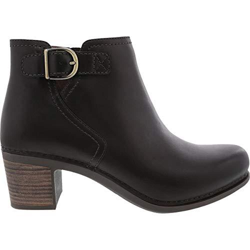 (Dansko Women's Henley Boot Chocolate Burnished Calf Size 38 Regular)