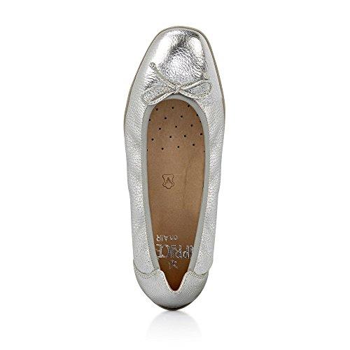 donna Ballerine 951 9 9 28 Deer Caprice Silver 22106 aUYXPw