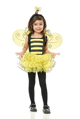 Charades Sweet Bee Children's Costume, X-Small/Small ()