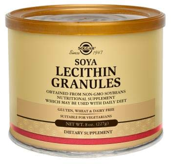 - Solgar Lecithin Granules Supplement, 8 Ounce