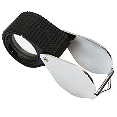 Mini Pocket Magnifying Glass Magnifier Loupe Jewelry Jewelers Loupe Jewellers