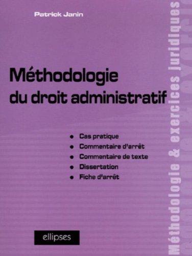 Autonomie du droit administratif dissertation