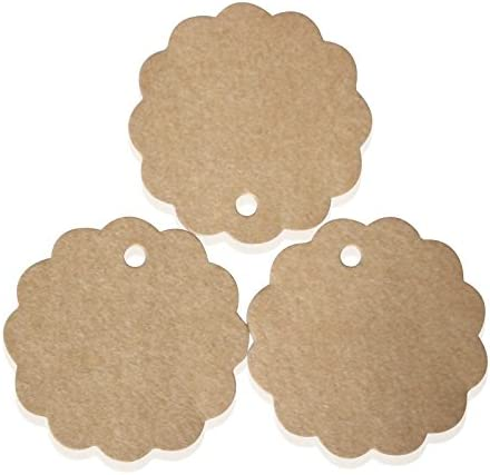 Schwarz Scrox 100St/ücke Kraft Paper Tags Creative Round Flower Design Luggage Tags Gift Tags Wedding Paper Tags Message Card Tag Hang Tag Shop Store Price Label Tag DIY Craft Paper Card Tag,6*6CM