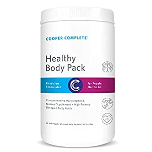Cooper Complete – Healthy Body Pack – Daily Vitamin Pack with Multivitamin & Omega-3 Fish Oil -…