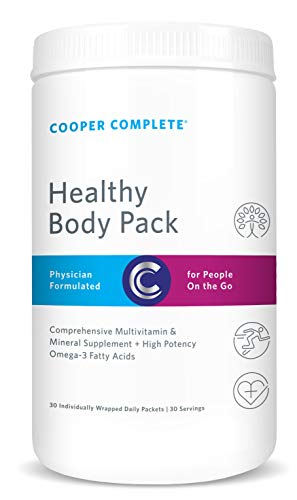 Cooper Complete - Healthy Body Pack - Daily Vitamin Pack with Multivitamin & Omega-3 Fish Oil - 30 Day Supply