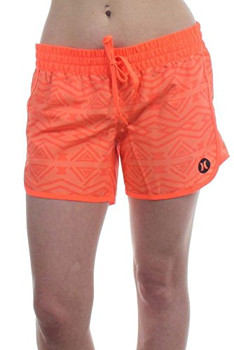 Hurley Womens GBS0000550 Supersuede 5 Inch Beachrider Boardshort, Hypr Orange S - M