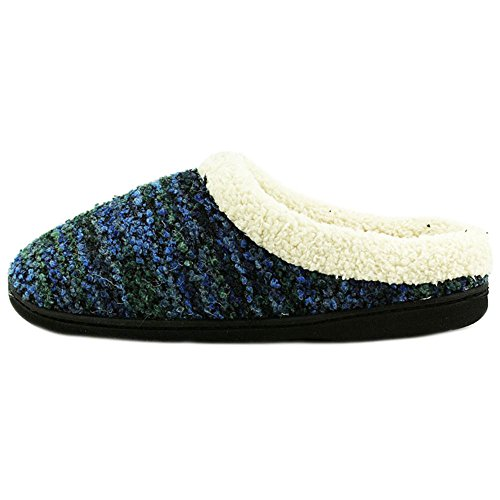 Dearfoams Womens Memory Foam Slippers Size: Small (5-6) Color: Blue TUQ1BOti6