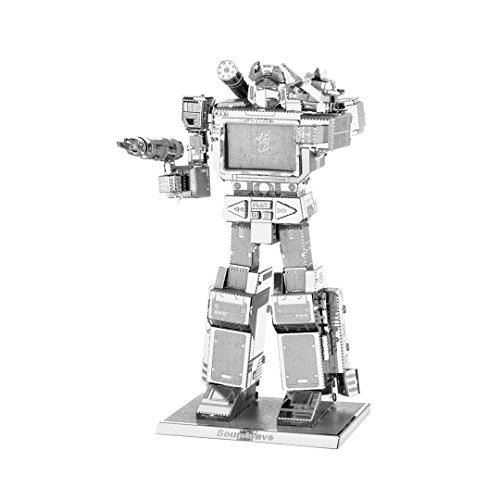 Fascinations Metal Earth Transformers Soundwave