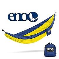 ENO - Hamaca SingleNest de Eagles Nest Outfitters, hamaca portátil para uno, zafiro /amarillo