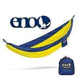 Eagles Nest Outfitters SingleNest Hammock (Navy/Yellow) thumbnail