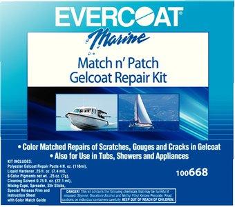 Evercoat 100668 Gelcoat Repair Kit- 4 fl. oz. ()
