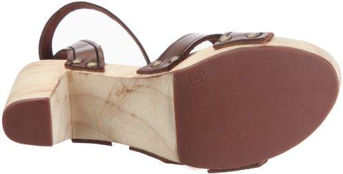 Mexx Lola - Heeled Clog Sandal F7RE0093 Damen Sandalen/Fashion-Sandalen Braun/Cognac