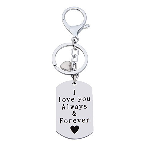 I Love You Always and Forever Hand Stamped Romantic, used for sale  Delivered anywhere in Canada