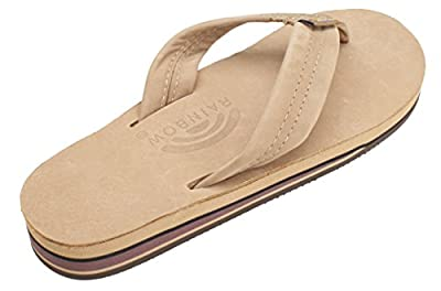 Rainbow Sandals Women's Double Layer Premier Leather w/Arch