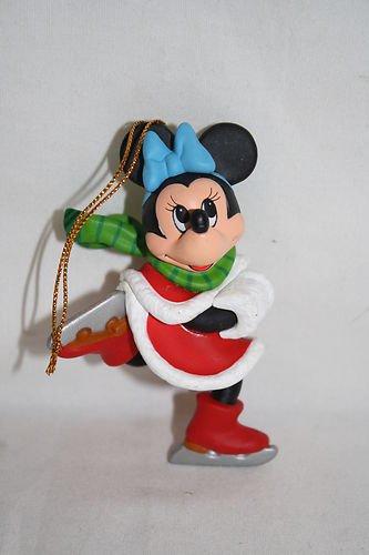 Disney Christmas Magic Ornament, Minnie Mouse Skating (Skates Victorian Ornament)