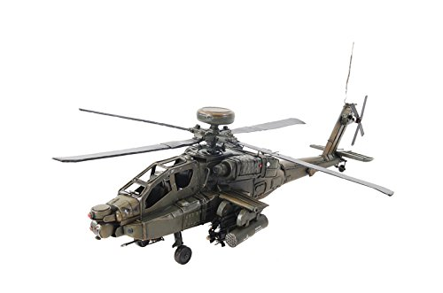 Old Modern Handicrafts Ah-64 Apache Collectible, 1:24-Scale