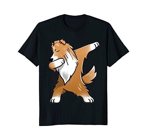 Dabbing Shetland Sheepdog Shirt Sheltie Tee Shirt Dab Pose