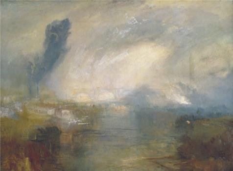 Oil painting 'Joseph Mallord William Turner - The Thames above Waterloo Bridge,1830-1835' printing on high quality polyster Canvas , 12x16 inch / 30x42 cm ,the best Bar decoration and Home gallery art and Gifts is this Replica Art DecorativePrints on