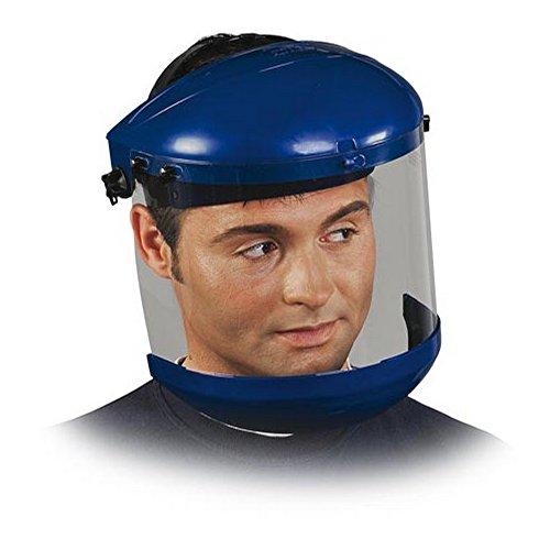 Gesichtsschutz blau Klapphelm Visier Schutzvisier Schutzmaske Augenschutz Gesichtsschutzschirm EN 166