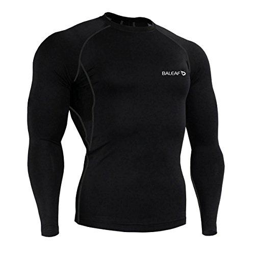 Baleaf Mens Sleeve Compression Shirt product image