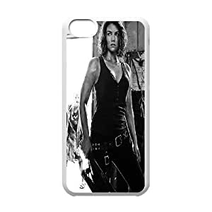 The walking dead season 5 hard pattern case cover For Iphone 5c TV-WALKING-S54250
