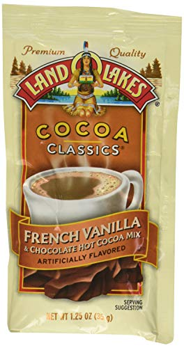 (Land O Lakes Cocoa Classics, French Vanilla & Chocolate, 1.25-Ounce Packets (Pack of 12))