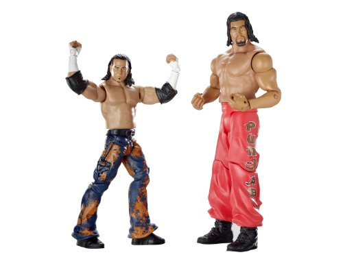 WWE Supreme Teams Matt Hardy and Great Khali Figure 2-Pack Series #8 by Mattel