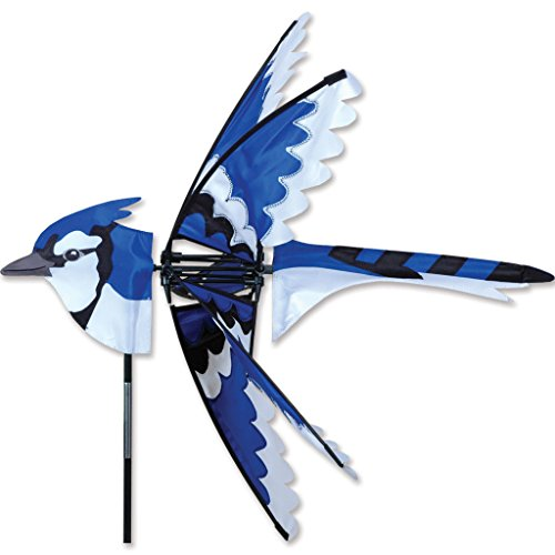 - Premier Kites 25 in. Eastern Blue Jay Spinner
