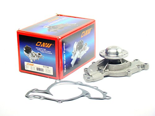 OAW G1780 Engine Water Pump for Chevrolet Camaro Impala Monte Carlo Buick Oldsmobile Pontiac V6 3.8L 1995-2009 (Lesabre 1999 Buick Pump Water)
