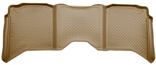 Husky Liners Custom Fit Second Seat Floor Liner for Select Dodge Ram Models (Black Second Seat Floor Liners)