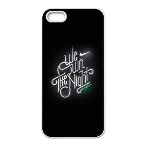iPhone 4 4s Cell Phone Case White we run the night london logo nike BNY_6741036