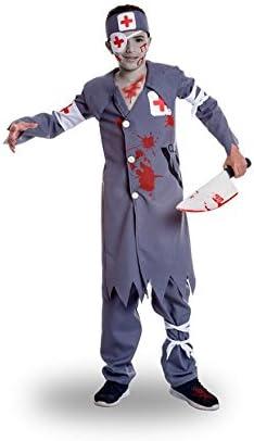 Disfraz de Enfermero Asesino para niño: Amazon.es: Juguetes y juegos