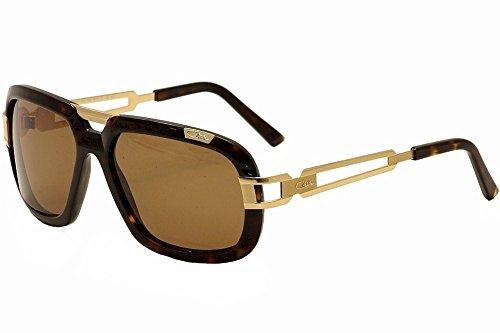 Cazal Sunglasses CZ 8015/S 003 Dark havana and gold - Cazal Sunglasses