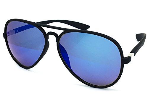 Aviator Vintage Womens Sunglasses Retro Eyewear Lens Black - 7