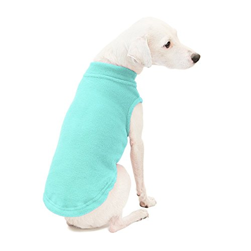 Gooby - Stretch Fleece Vest, Pullover Fleece Vest Jacket Sweater for Dogs, Mint, 2X-Large - Low Miles Mint