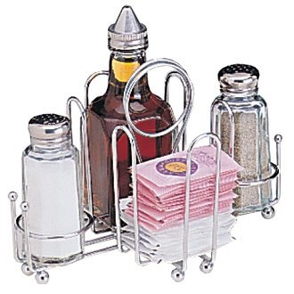 Organizador de mesa - para salero y pimentero magnéticos de ...