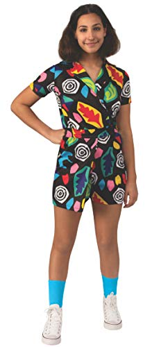 Stranger Things Season 3 Girl's Eleven Mall Dress Costume, Large (El Mall)
