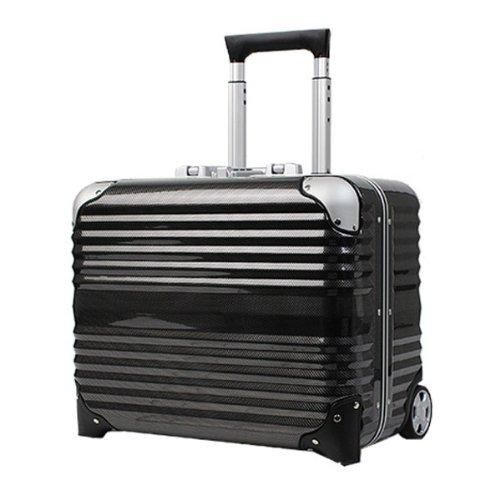 LEGEND WALKER スーツケース キャリーバッグ キャリーケース 2輪 TSAロック PC100% 軽量細フレーム 31L 6200-44 (カーボン) B00DYI7C1U