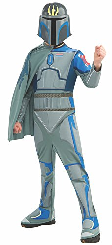Rubies Star Wars Clone Wars Child's Pre Vizsla Costume and Mask, Medium